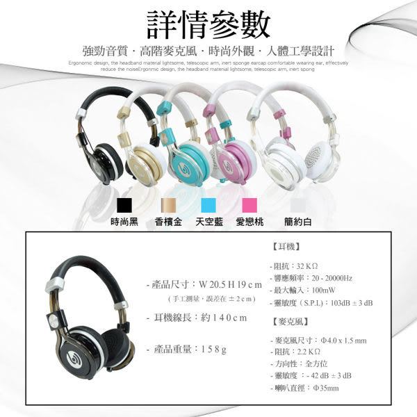 ☆Beevo BV-HM770 耳罩式耳機/麥克風/電腦/手機/平板/MP3/SAMSUNG  NOTE N7000/NOTE2 N7100/NOTE3 N9000/N900u/NOTE4/NOTE5