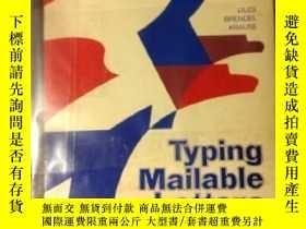 二手書博民逛書店Typing罕見Mailable LettersY307751 Parker Liles Glencoe mc