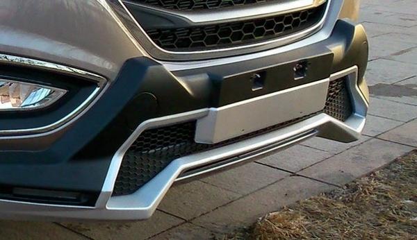 【車王小舖】現代 Hyundai 2015年 ix35前保桿+ix35後保桿 ix35運動款前後保桿 運動版 帶日行燈
