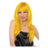 長假髮1入-日光黃