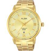 ALBA雅柏 爵士時尚手錶-金/44mm VJ42-X237G(AS9E88X1)