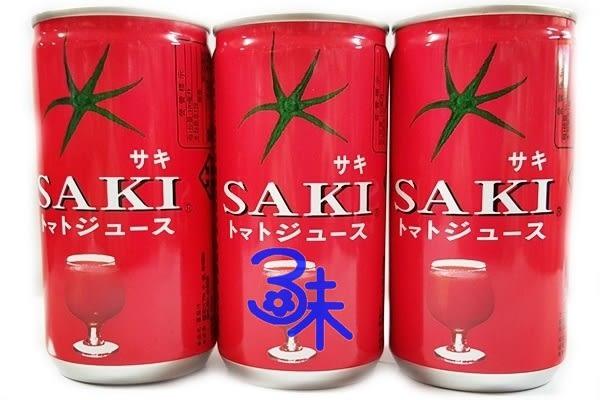 (韓國) SAKI 番茄原汁 1組6罐 (180ml*6罐) 【8801105906417 】(蕃茄汁)