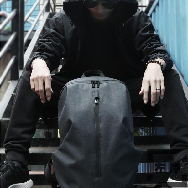 後背包男休閒背包15.6寸電腦包旅行包書包時尚潮流【左岸男裝】