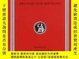二手書博民逛書店Remains罕見Of Old LatinY256260 Warmington, E. H. (edt) Ha