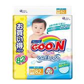 日本境內GOO.N 大王-阿福狗特規增量版黏貼型紙尿褲M 246片(82x3包/箱)-廠商直送 大樹