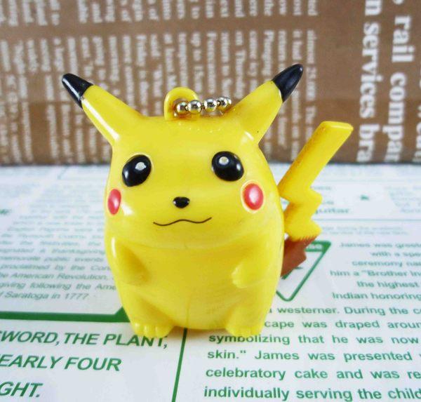 【震撼精品百貨】神奇寶貝_Pokemon~鎖圈/鑰匙圈-皮卡丘害羞造型