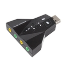 【DB315】雙耳機音效卡 模擬7.1聲...