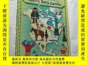 二手書博民逛書店Mapping罕見North America 大16開 精裝Y1