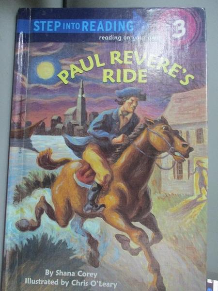 【書寶二手書T4/百科全書_OOF】Paul Revere's Ride_Corey, Shana/ O'Leary,