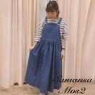 「Summer」定番牛仔吊帶洋裝 (提醒→SM2僅單一尺寸) - Sm2