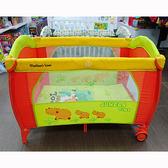 高級遊戲床 河馬叢林 可折疊嬰兒床 便攜式遊戲床【六甲媽咪】