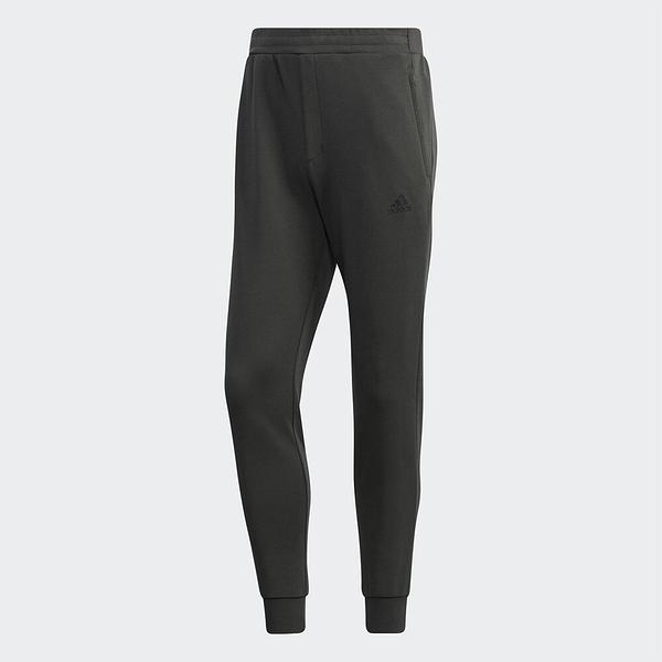 ADIDAS 長褲 MUST HAVES 橄欖綠 拉鍊口袋 縮口 運動 休閒 男 (布魯克林) GF3974