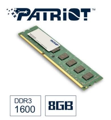 【超人百貨W】 Patriot美商博帝 DDR3 1600 8GB桌上型記憶體