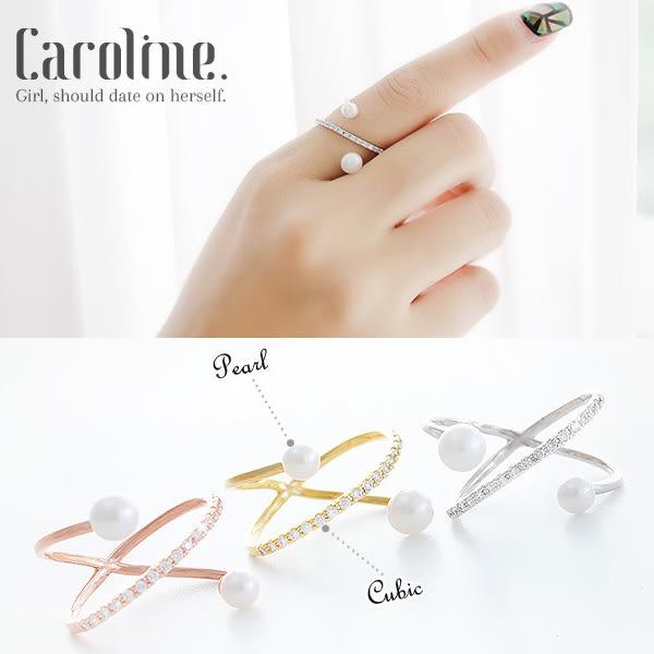《Caroline》★【一束花】韓國流行時尚甜美魅力、迷人風采無限動人時尚戒指68888