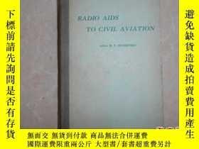 二手書博民逛書店RADIO罕見AIDS TO CIVIL AVIATIONY13