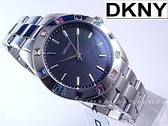 【時間光廊】DKNY 彩鑚 黑底 珍珠母貝面板 紐約摩登風 女錶 全新原廠 NY8718