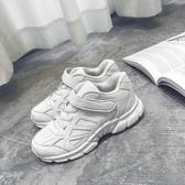 降價兩天 ins超火的運動鞋女 2020魔術貼老爹鞋 韓版ulzzang百搭學生小白鞋潮