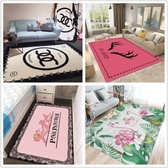 茶几地墊 客廳茶幾地毯少女粉色服裝店臥室床邊飄窗滿鋪可愛衣帽間地墊定制