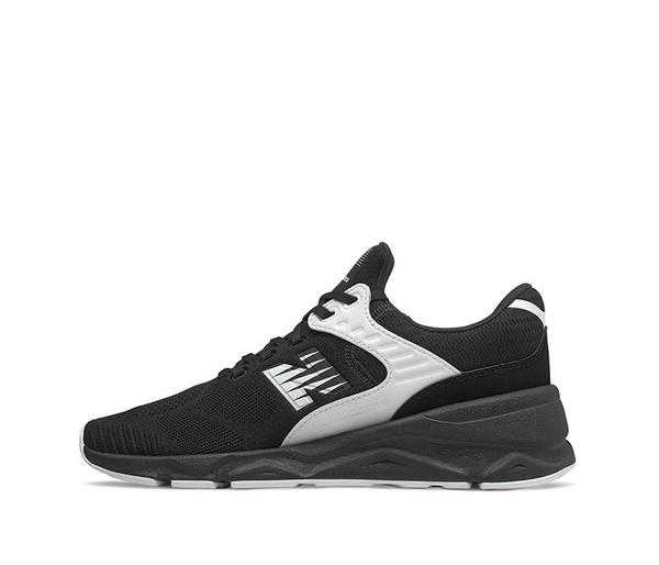 New Balance 男款黑色復古慢跑鞋-NO.MSX90PLF