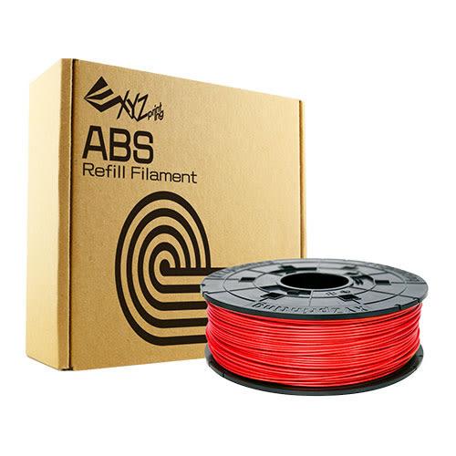 XYZprinting ABS塑料3D列印線材匣600g紅【愛買】