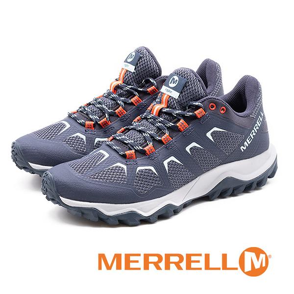 MERRELL(女)FIERY運動鞋 健行鞋 -藍紫