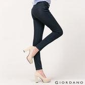 【GIORDANO】女裝基本款彈力貼身窄管牛仔褲(40 水洗藍)