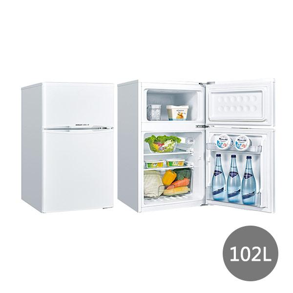 【台灣三洋SANLUX】102公升雙門小冰箱SR-C102B1(含基本安裝)*預購*