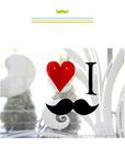 [韓風童品] 愛心胡子派對裝飾 戶外露營裝飾 節慶佈置   婚禮場景布置 求婚宴會佈置