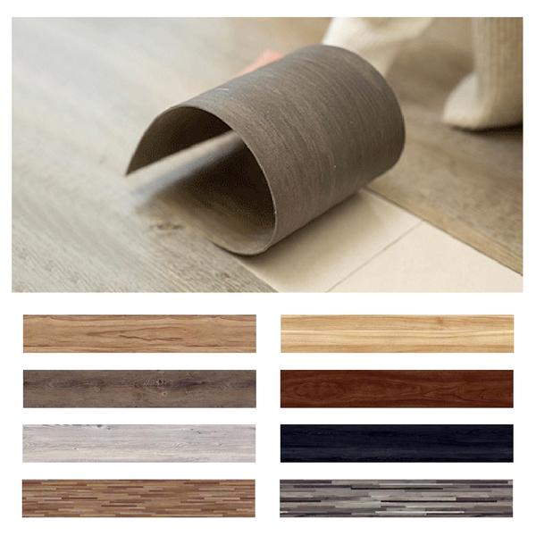 【居家裝潢 木紋地板貼】木紋地貼 壁貼 牆壁貼紙 立體地板貼 台灣製 SGS合格 地板家具櫥櫃裝修
