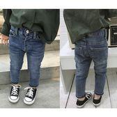 2018春裝新款男女兒童正韓休閒褲牛仔褲彈力修身小腳褲潮禮物限時八九折