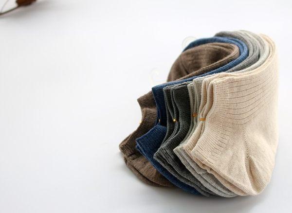 [協貿國際]春秋全棉隱形男士純色百搭短襪