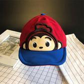 雙十二狂歡購 韓國兒童帽子春秋嬰兒寶寶男童潮男孩棒球鴨舌帽小童薄款1-3歲2男
