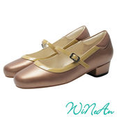WINEAN薇妮安-瑪莉珍跟鞋(赤褐色)-WNA-13699