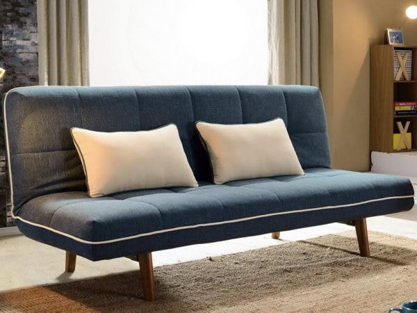 8號店鋪 森寶藝品傢俱 a-01 品味生活 沙發系列726-2 愛德格沙發床(可拆洗)(附抱枕2個)