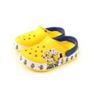 Crocs 小小兵 涼鞋 休閒鞋 防水 雨天 黃色 童鞋 205512-730 no009