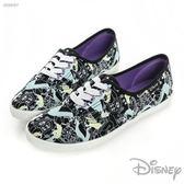 Disney 愛麗絲 插畫休閒鞋-黑