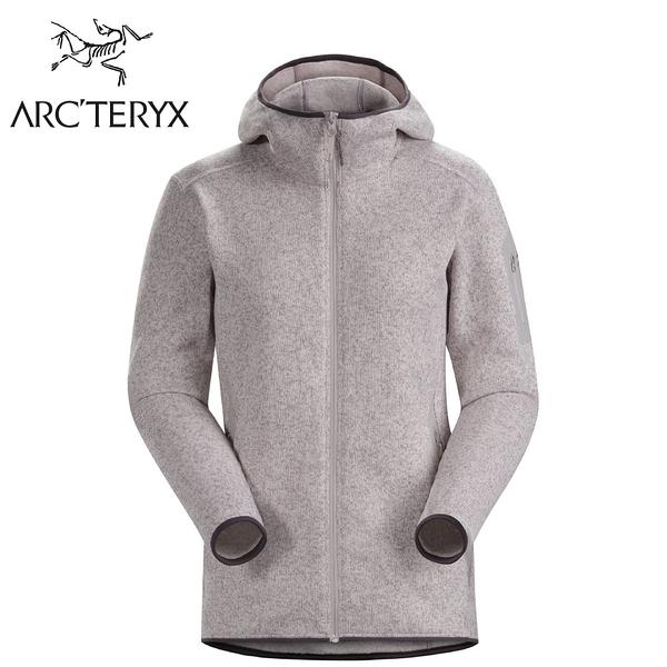 【ARC TERYX 始祖鳥 女 Covert 刷毛外套《水晶雜粉》】24087/中層衣/連帽外套/暖外套