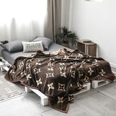 雙層毛毯被子加厚珊瑚絨毯子北歐簡約冬季保暖床單法蘭絨單人雙人