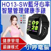 【免運+24期零利率】全新 HO13-SW 藍牙心率智慧管理健康手錶 鍛鍊模式 步伐 里程數
