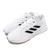 【六折特賣】adidas 休閒慢跑鞋 EPM Run W 白 黑 三條線 女鞋 膠底 【PUMP306】 B96342