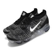 Nike 慢跑鞋 Air VaporMax Flyknit 3 黑 白 大氣墊 雪花 Oreo 男鞋 【PUMP306】 AJ6900-002