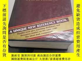 二手書博民逛書店THE罕見COLLINS DICTIONARY THESAURUSY290224 編者