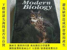 二手書博民逛書店英文原版罕見Modern Biology 現代生物學 1993年Y156452 見圖 見圖 出版1993