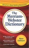 Merriam-Webster Dictionary New edition (2016)