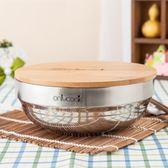 週年慶優惠-環保餐具大號304不銹鋼碗泡麵碗帶蓋子雙層隔熱碗白鋼大湯碗碗蓋