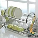 瀝水碗架餐具雙層碗碟架置物碗架【創世紀生活館】