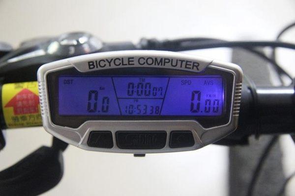 哈雷自行一體輪山地車電動車代駕電瓶車測速里程表碼表速度邁儀表