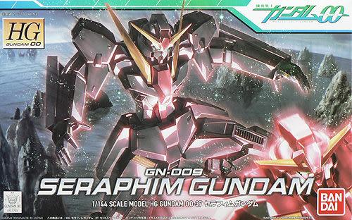 鋼彈模型 HG 1/144 鋼彈00 GN-009 SERAPHIM GUNDAM 六翼天使長 熾天使鋼彈 TOYeGO 玩具e哥