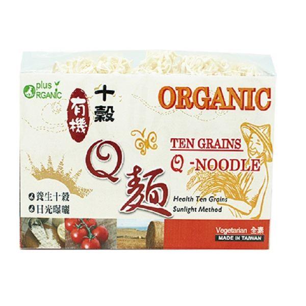 味榮 展康 有機十榖Q麵 /有機十穀麵375g/包