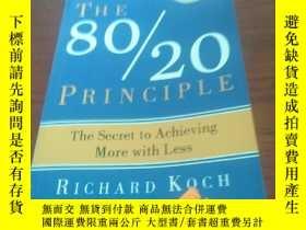 二手書博民逛書店The罕見80 20 principleY314746 Rich